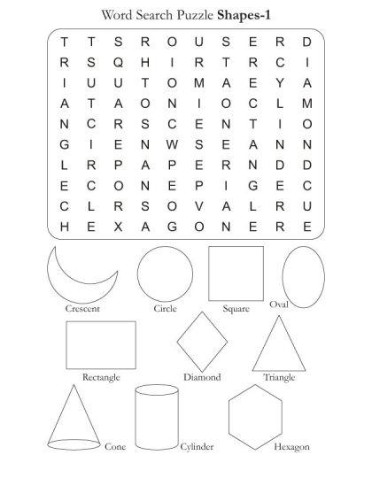 shape puzzle coloring pages - photo#25
