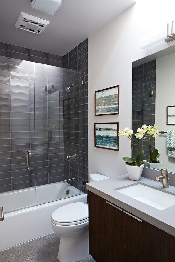 Ideas Modernas Para Decorar Casas Y Departamentos Decoracion De Casas Pequenas Y Sencillas Decoracio Mid Century Modern House Modern Bathroom Bathroom Design