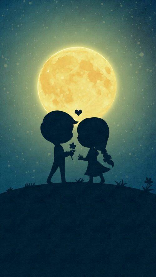 60 Cute Love Couple Phone Wallpapers Love Images Couple Cartoon Art