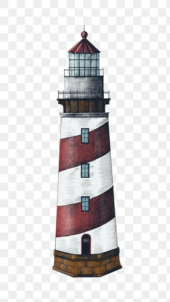 Hand Drawn Vintage Lighthouse Design Element Free Image By Rawpixel Com Hein How To Draw Hands Lighthouse Lighthouse Drawing