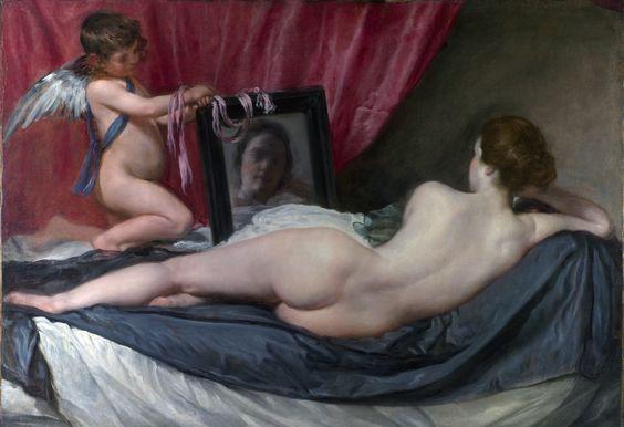 Venus del espejo de Diego Velázquez (c. 1644)