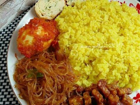 Resep Nasi Kuning Gurih Oleh Susan Mellyani Resep Resep Masakan Resep Resep Makanan