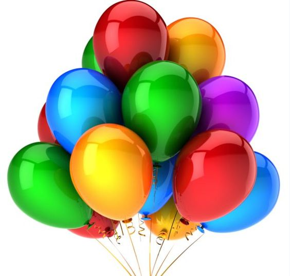 Real Birthday Balloons - Bing Images | clipart | Pinterest ...