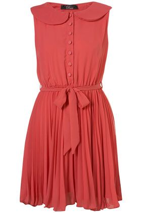 loving chiffon pleats. cant wait for spring/summer!