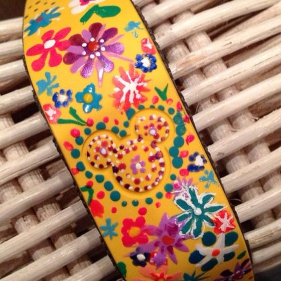 Mia decorated by Magic Band!