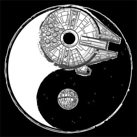 Yin Yang Unisex And Star Wars On Pinterest