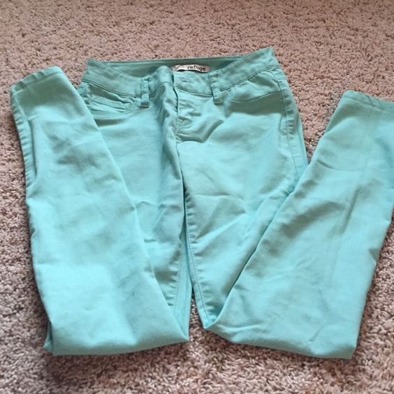 Teal jeans If you have any questions feel free to contact me! I do discount bundles and am happy to help! Pants