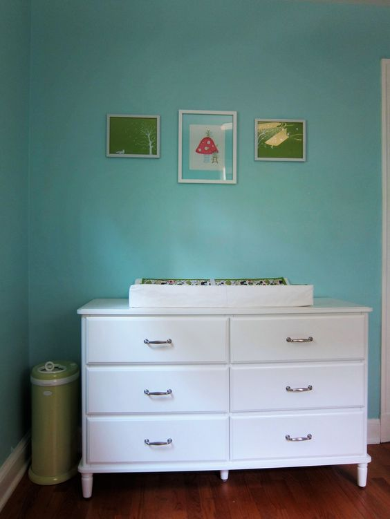 Cream Dressers And Diapers On Pinterest