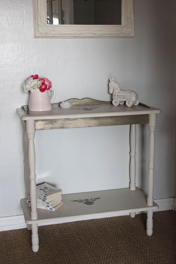 Baroque, Consoles and Shabby chic on Pinterest