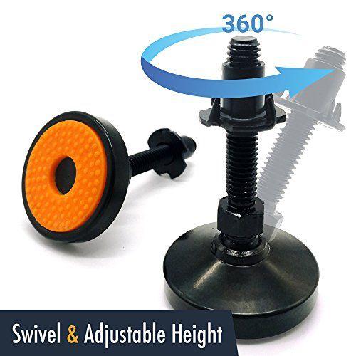Unwiredd Swivel And Height Adjustable Heavy Duty Leg Leve Https Www Amazon Com Dp B075c3q4b1 Ref Cm Sw R Pi Dp U X Brs Carbon Steel Adjustable Legs Swivel