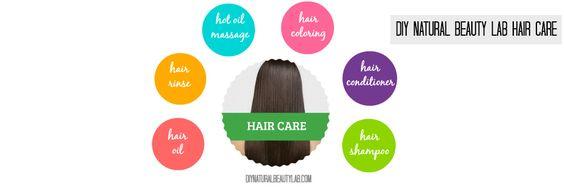 DIY Natural Beauty Lab Hair Care