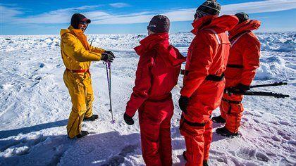 Aux Îles-de-la-Madeleine, la glace à perte de vue a permis à la saison d'observation des blanchons de connaître un succès indéniable.