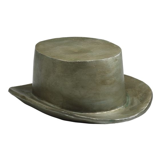 Eek! an oversized monopoly top hat decorative object!! must have a whole collection