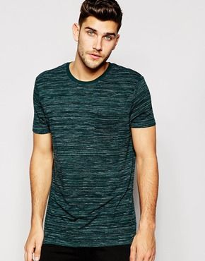 ASOS T-Shirt With Space Dye And Relaxed Skater Fit