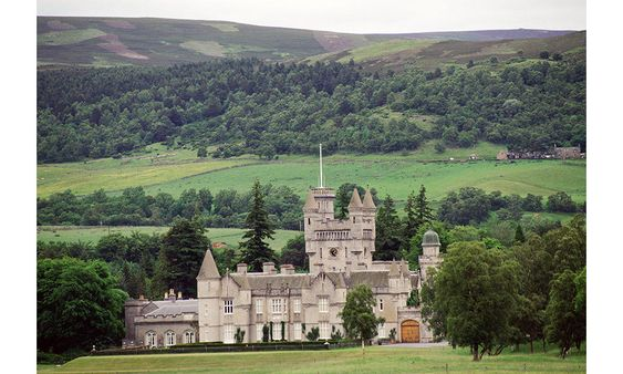 The Queen  usually spends two months of the summer at Balmoral in Scotland