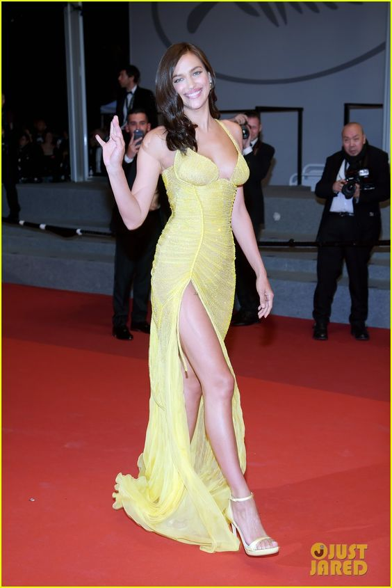 Irina Shayk Stuns on First Red Carpet Since Giving Birth!