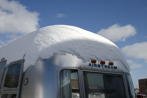 winter travels in airstream