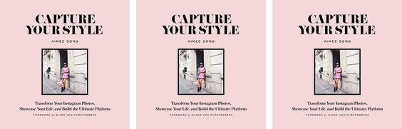 O livro de blogueira que promete upgrade no seu instagram | http://alegarattoni.com.br/capture-your-style/