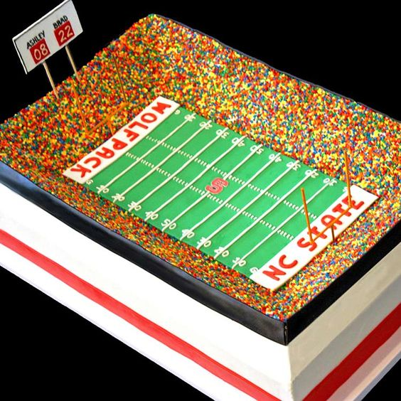 nc state football cake - Google Search: