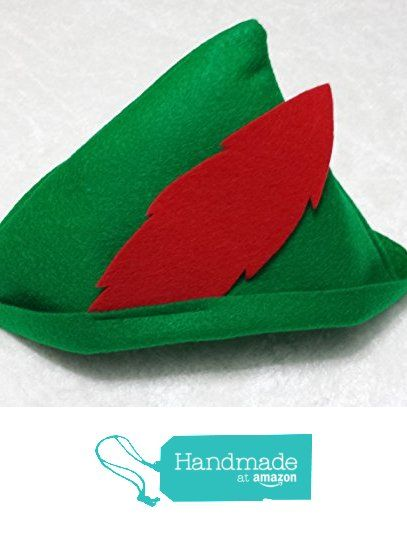 Baby / Toddler Peter Pan / Robin Hood Hat from Teatots Party Planning https://www.amazon.com/dp/B01LXJGVSS/ref=hnd_sw_r_pi_awdo_rXi8xbP0NXTMJ #handmadeatamazon