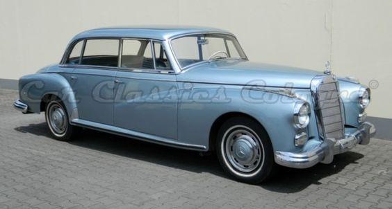 1959 Mercedes-Benz Adenauer - 300d Adenauer W189 Hardtop-Limousine   Classic Driver Market