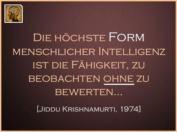 Die  höchste Form menschlicher Intelligenz ist Grundlage für Frieden auf Erde