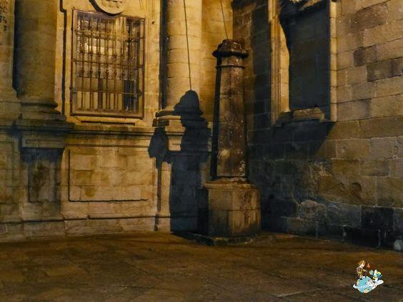 Sombra del Peregrino en Santiago de Compostela (Spain)
