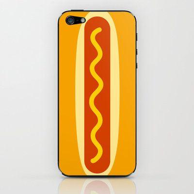 Hot Dog : idokungfoo.com iPhone & iPod Skin by simon oxley idokungfoo.com on Wanelo