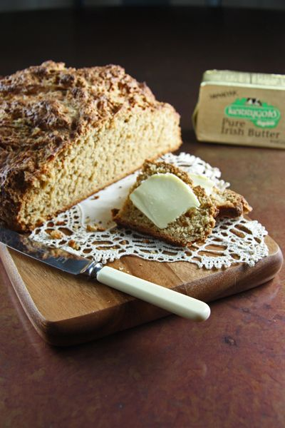 Irish Brown Bread- Try a different style Irish bread this Saint Patrick's Day by making this brown bread rather than the more commonly found soda bread.