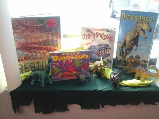 Dinosaur reading selections preschool