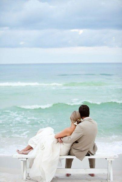 Beach weddings, very well done.
