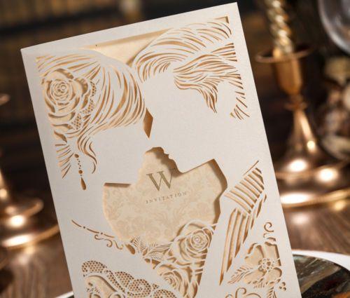 Convite-De-Casamento-Cartoes-Kit-Com-Envelopes-Selos-impressao-personalizado-personalizado