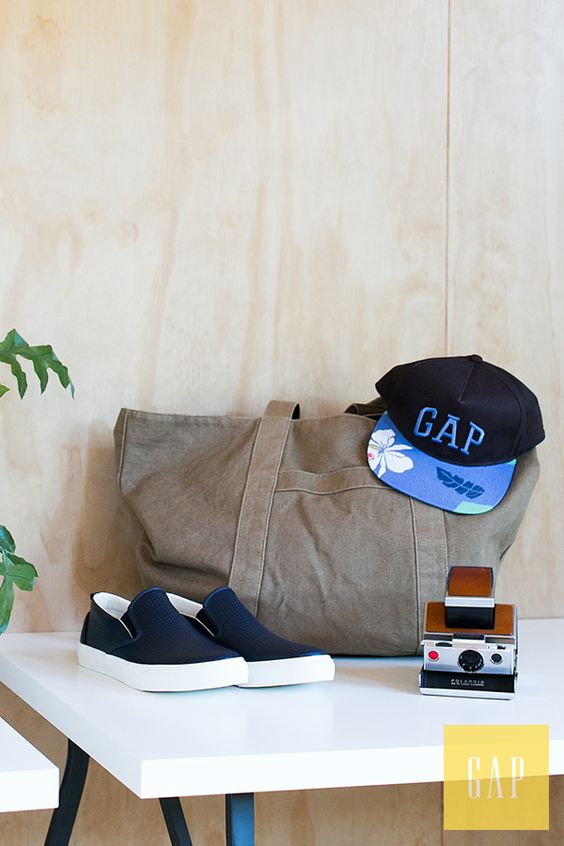 Packed and ready for our weekend getaway! Shop the perfect summer travel essentials from Gap.