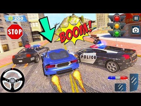 Crime Cop Car Chase Mission Police Car Vs Thief Car Chase