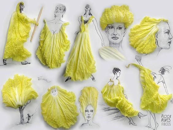 """@Mariadecuenca: #Curiosidades Diseños con lechugas pic.twitter.com/rTQvREChhV"" mire doña @MVivant"