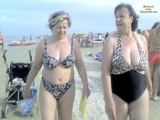 On beach granny Meet Marna,