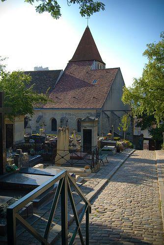 cimetière de Charonne  rue Stendhal 75020