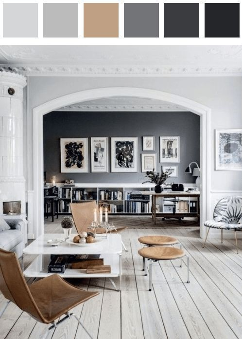 Home Decoration Ideas Stunning Scandinavian Interiors For A Minimalist Living Room Color Palette Black Da Living Room Scandinavian House Interior Interior