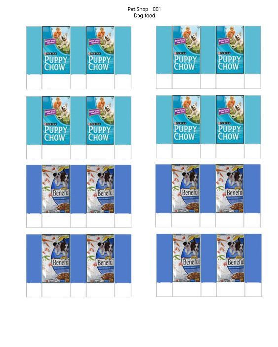 Download Doll Food Printables Printable Pet Food Bags Mini Doll House Pets Doll House Crafts Doll Diy Crafts