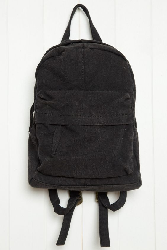 brandy melville black canvas mini backpack accessories accessoriesendearing lay small