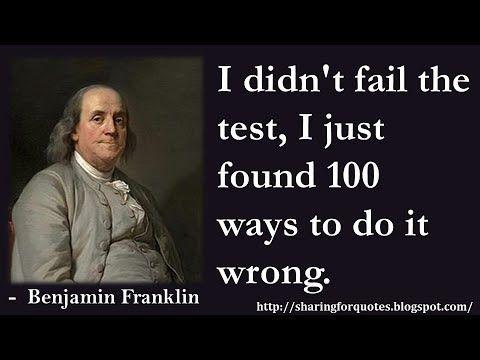 Benjamin Franklin Inspirational Quotes 03 Benjamin Franklin Quotes Ben Franklin Quotes Benjamin Franklin