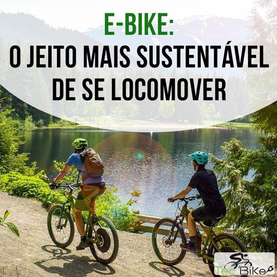 Com a E-Bike, você se locomove de um jeito pratico, saudável e sustentável. 🌳🌱 Sem emissão de poluentes, sem barulhos e sem congestionamentos. Por um mundo vá de Bike Elétrica.🌎🚲⚡✅  #tecbike #bike #elétrica #bicicleta #bicicletaeletrica #bikeeletrica #adeuscarro #ciclismo #mobilidade #motor #ebike #eco #bikes #mundodabike #tudosobrebike #tudosobrebicicleta #pedaleria #vzan #starrett #ciclista #sportix #gioia #rodda #velom #spectro #mobilidadeurbana
