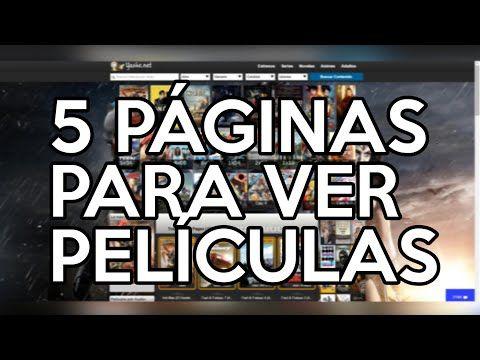 Las 5 Mejores Paginas Para Ver Peliculas Completas En Hd Cletutoz Youtube Paginas Para Ver Peliculas Ver Peliculas Completas Ver Peliculas