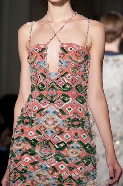 Valentino Fall 2013 Couture Details - Valentino's Most Stunning Couture Runway Details of the Decade - Photos