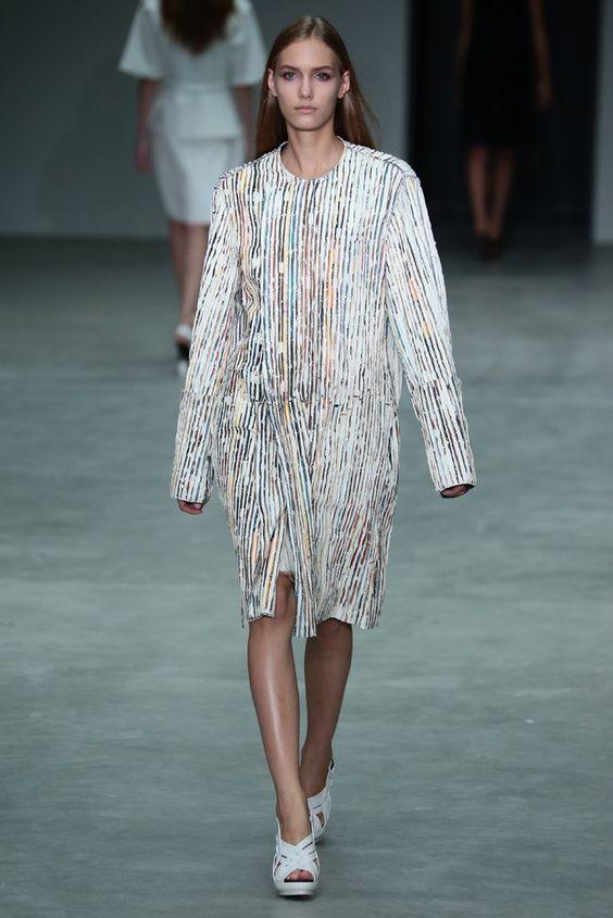 Calvin Klein Collection RTW Spring 2014 - Slideshow - Runway, Fashion Week, Reviews and Slideshows - WWD.com