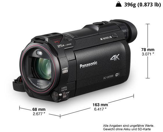 4K Ultra HD-Camcorder HC-VXF999