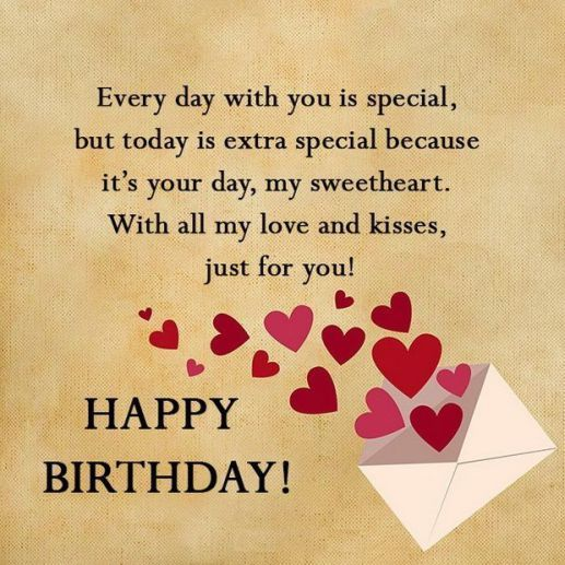100 Unique Happy Birthday My Love Quotes Romantic Wishes