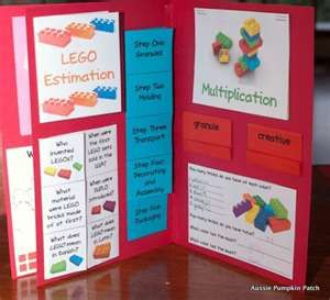 LEGO lapbook/activities