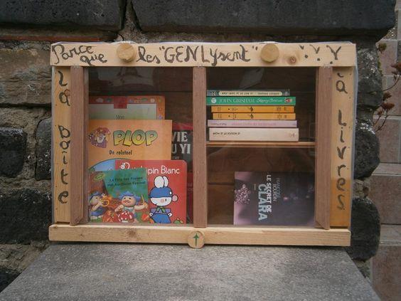 Boîte à livres Genly