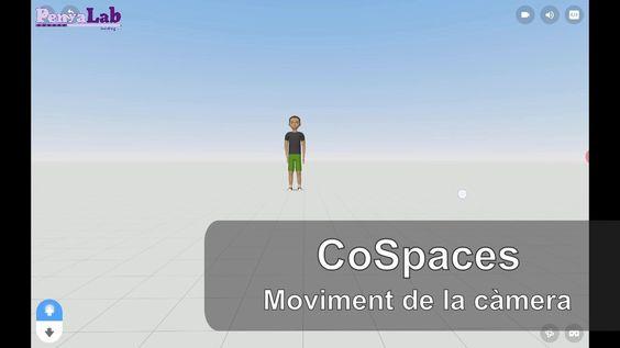 CoSpaces – Moviment de la càmera
